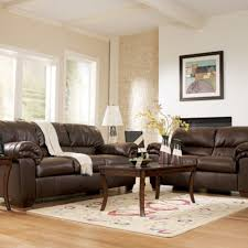 living room ideas brown leather sofa