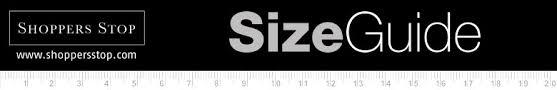 Shoppersstop Com Size Guide