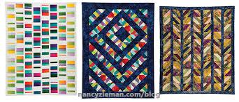 Strip by Strip Patchwork Quilts by Nancy Zieman and Donna Fenske ... & Someone ... Adamdwight.com