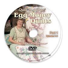 Amazon.com: Egg Money Quilts DVD with Eleanor Burns: Arts, Crafts ... & Egg Money Quilts DVD with Eleanor Burns Adamdwight.com
