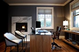 charcoal gray walls exotic woods perfect mix of classic modern