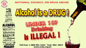 Ncda's Drinking 18 Under Campaign