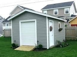 E Small Garage Doors For Sheds Door Shed  Splendid