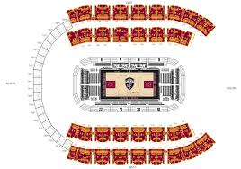 Cavs Tickets Seating Chart Cavaliers Premium Seating Cleveland Cavaliers
