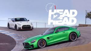 2018 Mercedes-AMG GT R vs. 2017 Nissan GT-R Nismo - Head 2 Head Ep ...