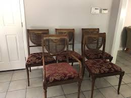 andre originals regency dining room chairs set of 5 1 of 12only 1 available