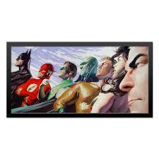 Холст 30x60 <b>Justice League</b>/<b>Лига Справедливости</b> #1662623 от ...