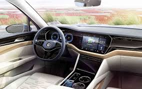 2018 volkswagen touareg interior. beautiful interior 2018 vw touareg redesign interior specs concept and volkswagen touareg interior 1