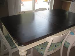 Refinish Kitchen Table Top Refinishing A Veneer Tablea Tutorial Fabulously Flawed