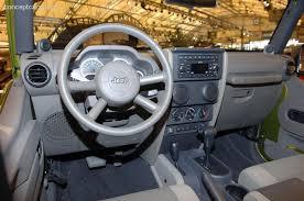 jeep wrangler 4 door interior. 2007 jeep wrangler unlimited pictures history value research news conceptcarzcom 4 door interior t