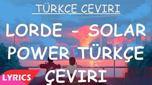 Lorde - Solar Power Tradução em ...