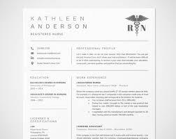 Registered Nurse Resume Template For Word Nursing Resume Rn Resume Doctor Cv Medical Resume Rn Can Be Used Like Personal Monogram