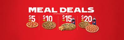 pizza deals and specials