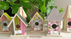 Diy Birdhouse Setting The Table For Easter Diy Birdhouse Place Cards Driven