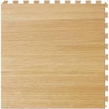 perfection floor tile classic wood 6 piece 20 in x 20 in birch locking luxury vinyl tile