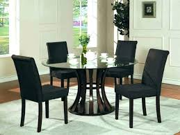 round glass table with 4 chairs round glass top dining table set glass dining table glass