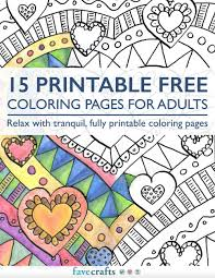 Small Picture 15 Printable Free Coloring Pages for Adults free eBook