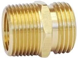 3 4 ght garden hose to 3 4 npt br coupler adapter connector garden hose parts amazon industrial scientific