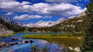 beautiful landscape scenery river gr