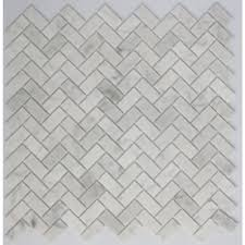 white marble tile pattern. Perfect White LTL Home Products 11 In X 12 8 Mm Tile Esque Carrara With White Marble Pattern