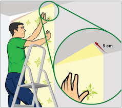 curso de colocao de papel de parede