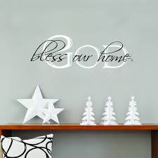 god bless our home quotes vinyl wall sticker home living room wall art decals on bless our home wall art with god bless our home quotes vinyl wall sticker home living room wall