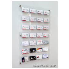 3x5 business cards wall mounted business card holder kit 3x5