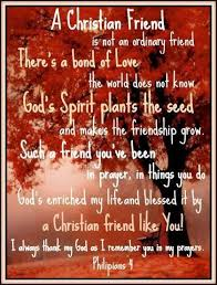 Christian Friendship Quotes And Sayings
