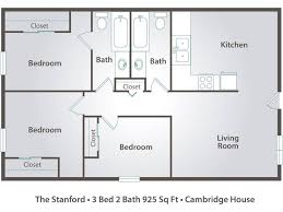 1 2 U0026 3 Bedroom Apartments In Rockville MD  Camden FallsgroveApartments Floor Plans 2 Bedrooms