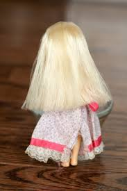 how to fix frizzy doll pony hair with