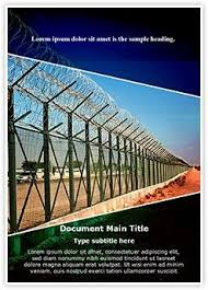 National Guard Powerpoint Templates Border Security Word Document Template Is One Of The Best Word