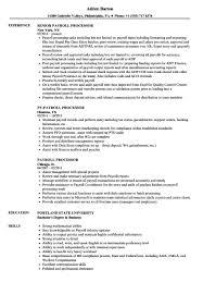 Payroll Manager Resume Sample Payroll Manager Resume Expert Payroll Processor Sample Resume
