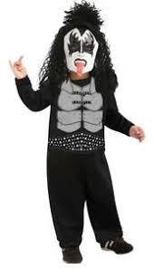 gene simmons kiss costume. image is loading fancy-dress-costume-boys-kiss-gene-simmons-the- gene simmons kiss costume n