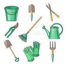 Download Garden Tools Flat Design Illustration Stock Vector -  Of Botany, Cultivating: 55464171 Dreamstime.com