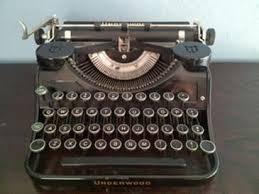 Image result for typewriter