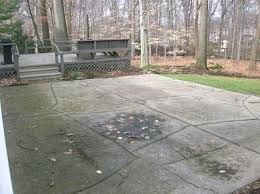 Cover concrete patio ideas Slab Houzz Need Ideas For My Cracked Concrete Patio