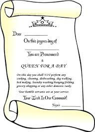 template literals html queen for a day certificate blank black white mother s printable