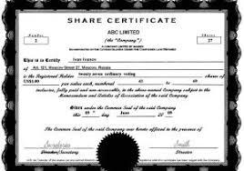 Free Stock Certificate Template Microsoft Word 40 Free Stock