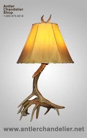table lamp deer antler lamps chandelier for bedroom real wooden battery modern led orange black furniture