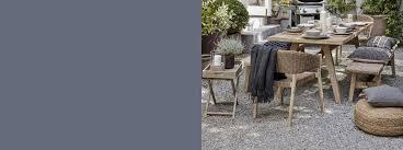 Garden furniture ranges