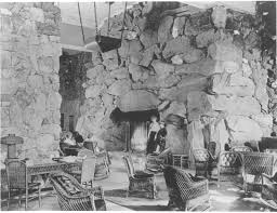 starting this week the lobby of the grove park inn will have a new light shining for decades the massive stone fireplace gracing the north side of the