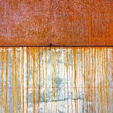 do you like the way that rusted metal looks on your sculpture or architectural feature but the way that rust stains