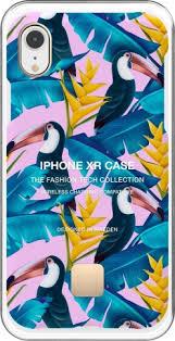 <b>Клип</b>-<b>кейс Happy Plugs для</b> Apple iPhone XR Toco Loco dark blue ...