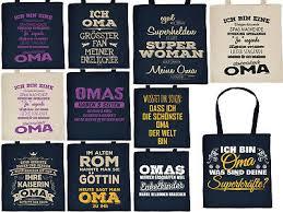 Geschenk Oma Geschenkverpackung Tasche Geburtstag Werdende Oma