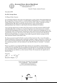 6 Letter Of Recommendation For High School Student Appeal Letter