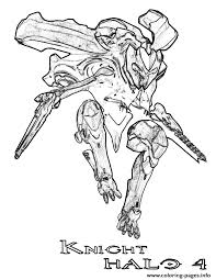 We offer printable coloring pages on this theme, with designs that will hopefully inspire your children. Halo 4 Knight Coloring Pages Printable