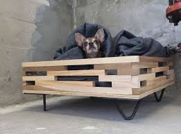 pop up bench dog. elevated hairpin leg dog bed pop up bench