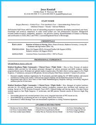 Critical Care Nurse Resume Resume Templates