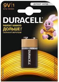 <b>Батарейка DURACELL</b> Duracell 6LR61-1BL/<b>6LF22</b>-1BL/6LP3146 ...
