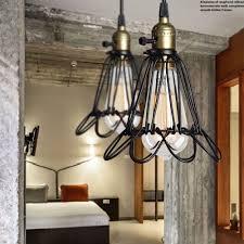 Bird Ceiling Light Fixture Us 26 48 Permo Bird Cage Rustic Pendant Lights Vintage Metal Pendant Ceiling Lamp Modern Hanglamp Luminaire E27 Lights Fixture In Pendant Lights